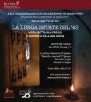 LA LUNGA ESTATE DEL '43   Visita spettacolo al Bunker di Villa Ada Savoia