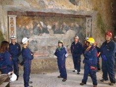 27 maggio: concluso il 18° corso Base di Roma Sotterranea