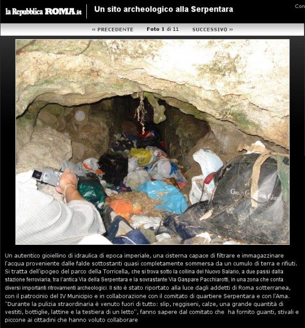Un sito archeologico alla Serpentara