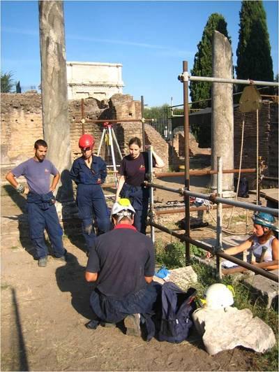 Attività sul Palatino